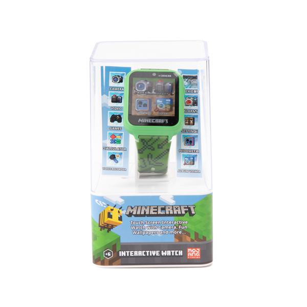 alternate view Minecraft Interactive Watch - GreenALT4