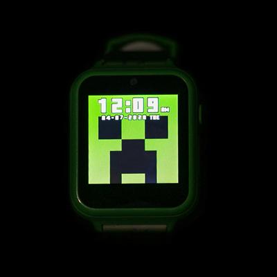 Alternate view of Minecraft Interactive Watch - Green