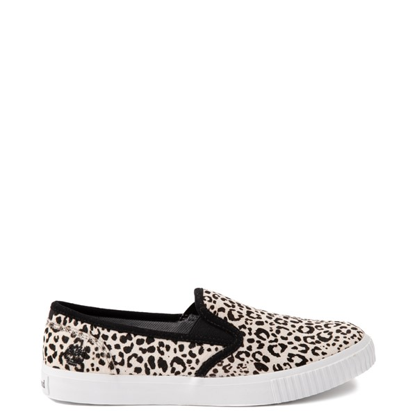 Main view of Womens Timberland Skyla Bay Safari Slip On Casual Shoe - Leopard