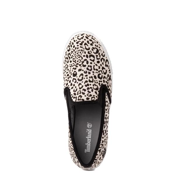 alternate view Womens Timberland Skyla Bay Safari Slip On Casual Shoe - LeopardALT4B