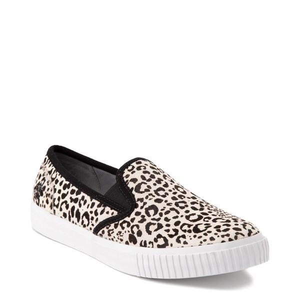 alternate view Womens Timberland Skyla Bay Safari Slip On Casual Shoe - LeopardALT5