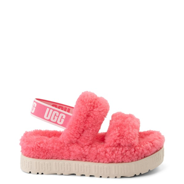 Main view of Womens UGG® Oh Fluffita Sandal - Pink Rose