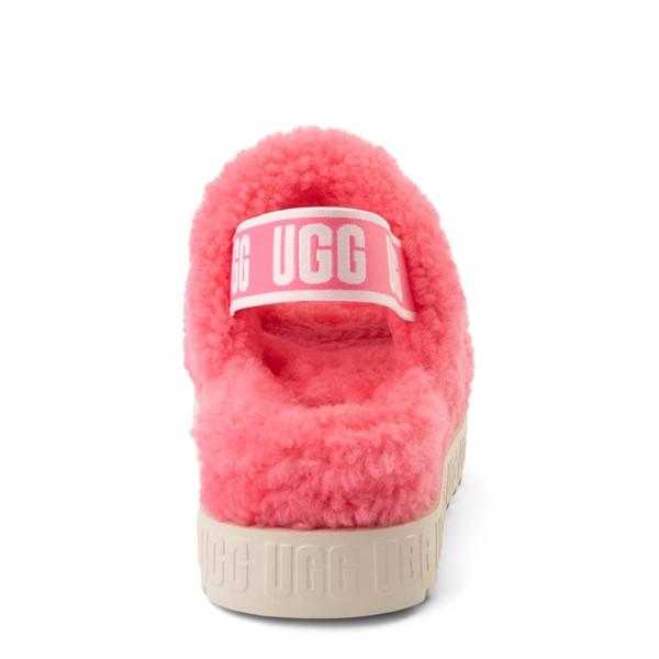 alternate view Womens UGG® Oh Fluffita Sandal - Pink RoseALT4