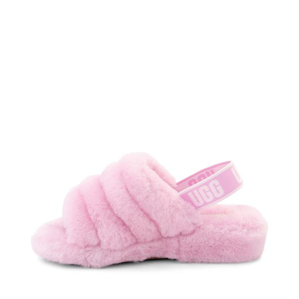 alternate view Womens UGG® Fluff Yeah Slide Sandal - PrimroseALT1