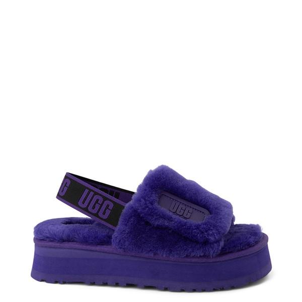 Main view of Womens UGG® Disco Platform Slide Sandal - Violet Night
