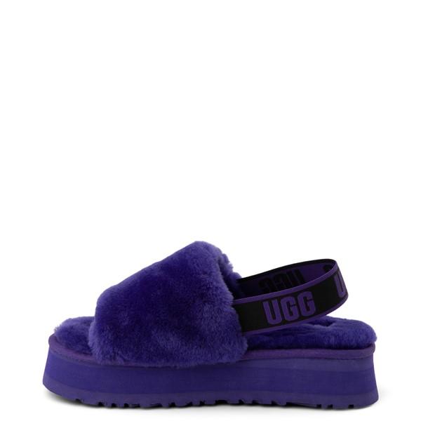 alternate view Womens UGG® Disco Platform Slide Sandal - Violet NightALT1