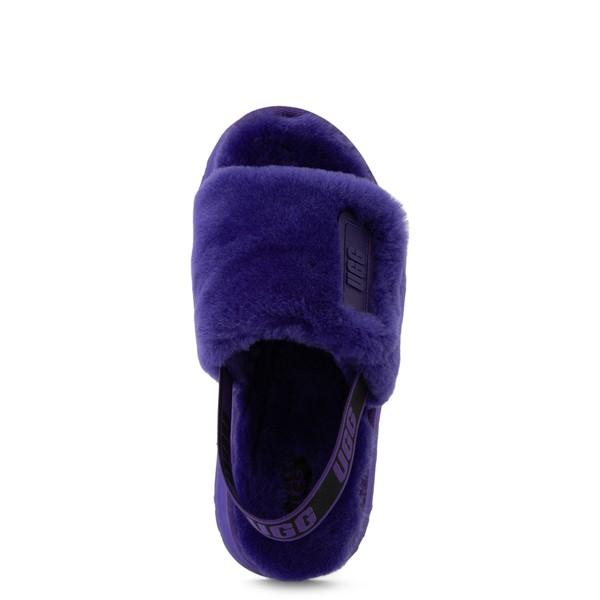 alternate view Womens UGG® Disco Platform Slide Sandal - Violet NightALT2