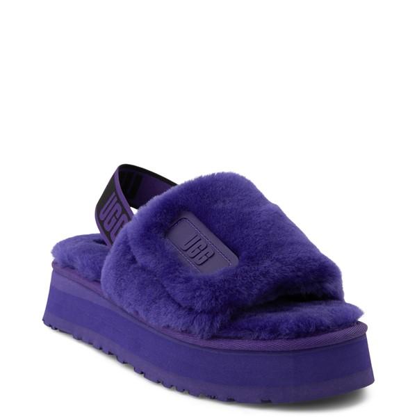 alternate view Womens UGG® Disco Platform Slide Sandal - Violet NightALT5
