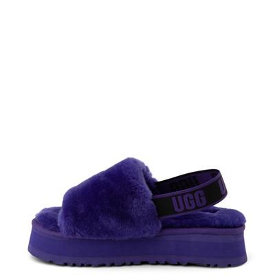 Alternate view of Womens UGG® Disco Platform Slide Sandal - Violet Night
