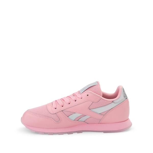 alternate view Reebok Classic Athletic Shoe - Little Kid - Pink / IridescentALT1