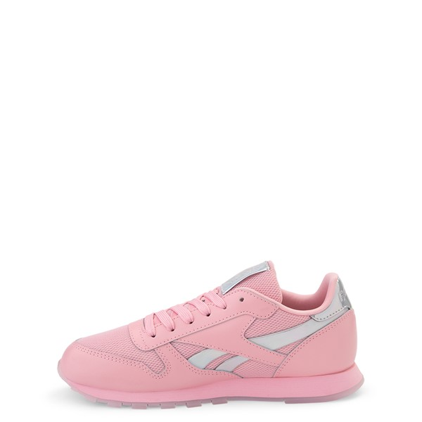 alternate view Reebok Classic Athletic Shoe - Big Kid - Pink / IridescentALT1
