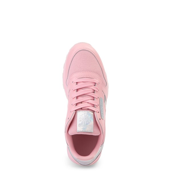 alternate view Reebok Classic Athletic Shoe - Big Kid - Pink / IridescentALT2