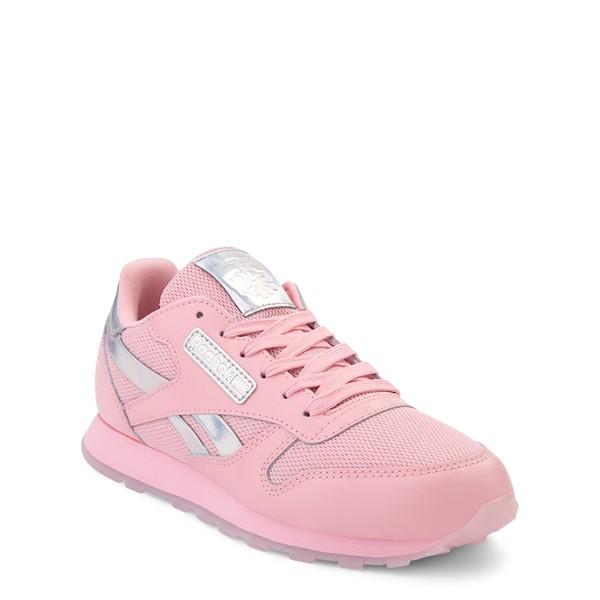 alternate view Reebok Classic Athletic Shoe - Big Kid - Pink / IridescentALT5