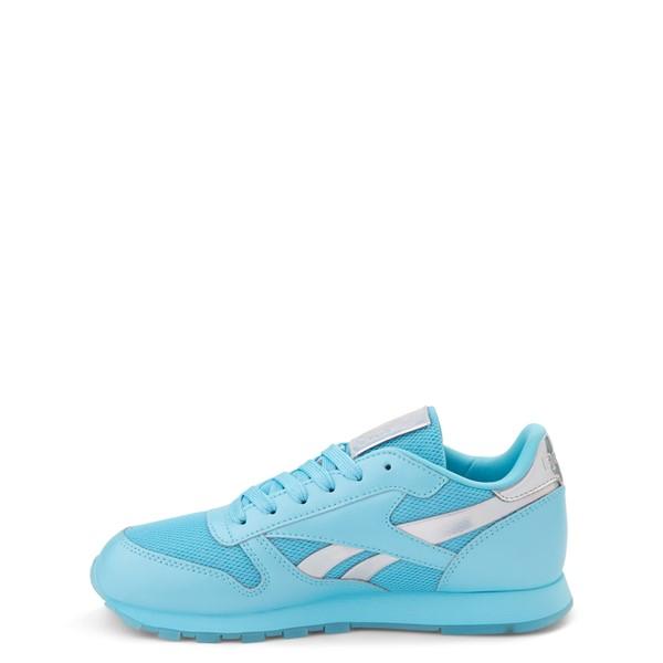 alternate view Reebok Classic Athletic Shoe - Big Kid - Blue / IridescentALT1