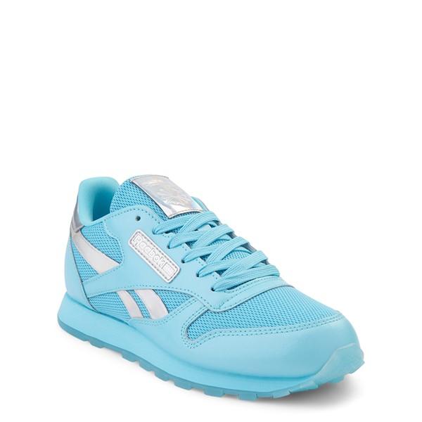 alternate view Reebok Classic Athletic Shoe - Big Kid - Blue / IridescentALT5
