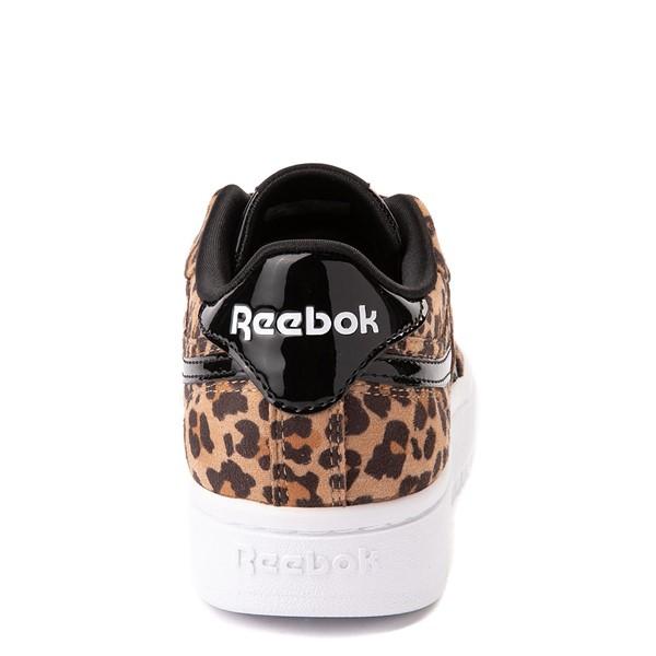 alternate view Reebok Club C Double Athletic Shoe - Little Kid - LeopardALT4