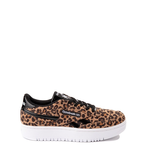 Reebok Club C Double Athletic Shoe - Big Kid - Leopard
