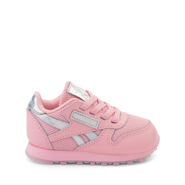 Reebok Classic Athletic Shoe - Baby / Toddler - Pink / Iridescent