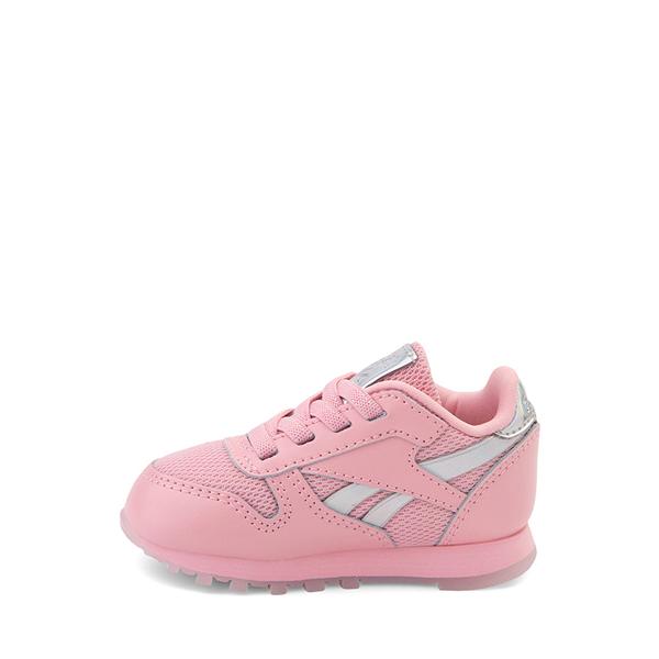 alternate view Reebok Classic Athletic Shoe - Baby / Toddler - Pink / IridescentALT1