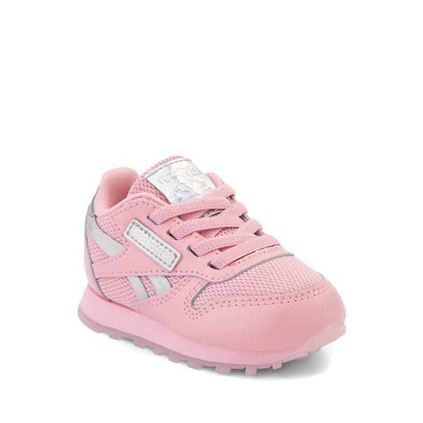 alternate view Reebok Classic Athletic Shoe - Baby / Toddler - Pink / IridescentALT5