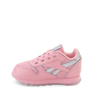 Alternate view of Reebok Classic Athletic Shoe - Baby / Toddler - Pink / Iridescent