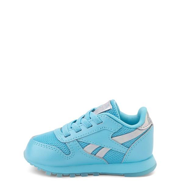 alternate view Reebok Classic Athletic Shoe - Baby / Toddler - Blue / IridescentALT1