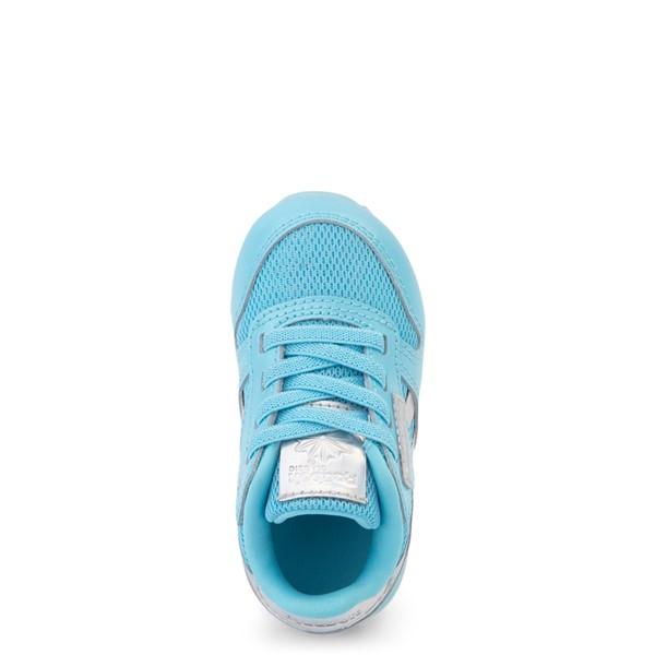 alternate view Reebok Classic Athletic Shoe - Baby / Toddler - Blue / IridescentALT2