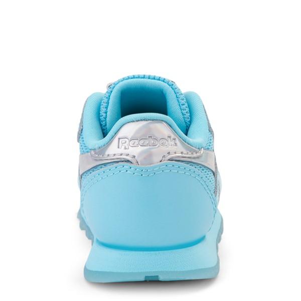 alternate view Reebok Classic Athletic Shoe - Baby / Toddler - Blue / IridescentALT4