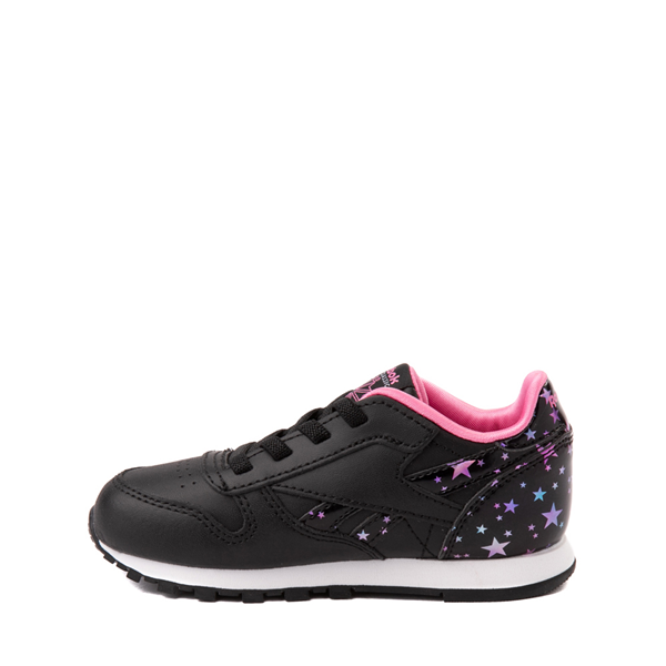 alternate view Reebok Classic Athletic Shoe - Baby / Toddler - Black / StarsALT1