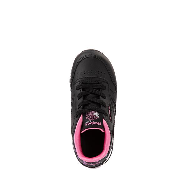 alternate view Reebok Classic Athletic Shoe - Baby / Toddler - Black / StarsALT2