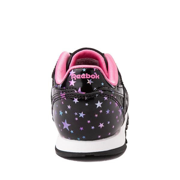 alternate view Reebok Classic Athletic Shoe - Baby / Toddler - Black / StarsALT4