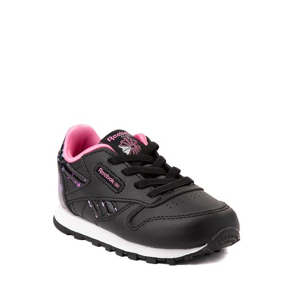 alternate view Reebok Classic Athletic Shoe - Baby / Toddler - Black / StarsALT5