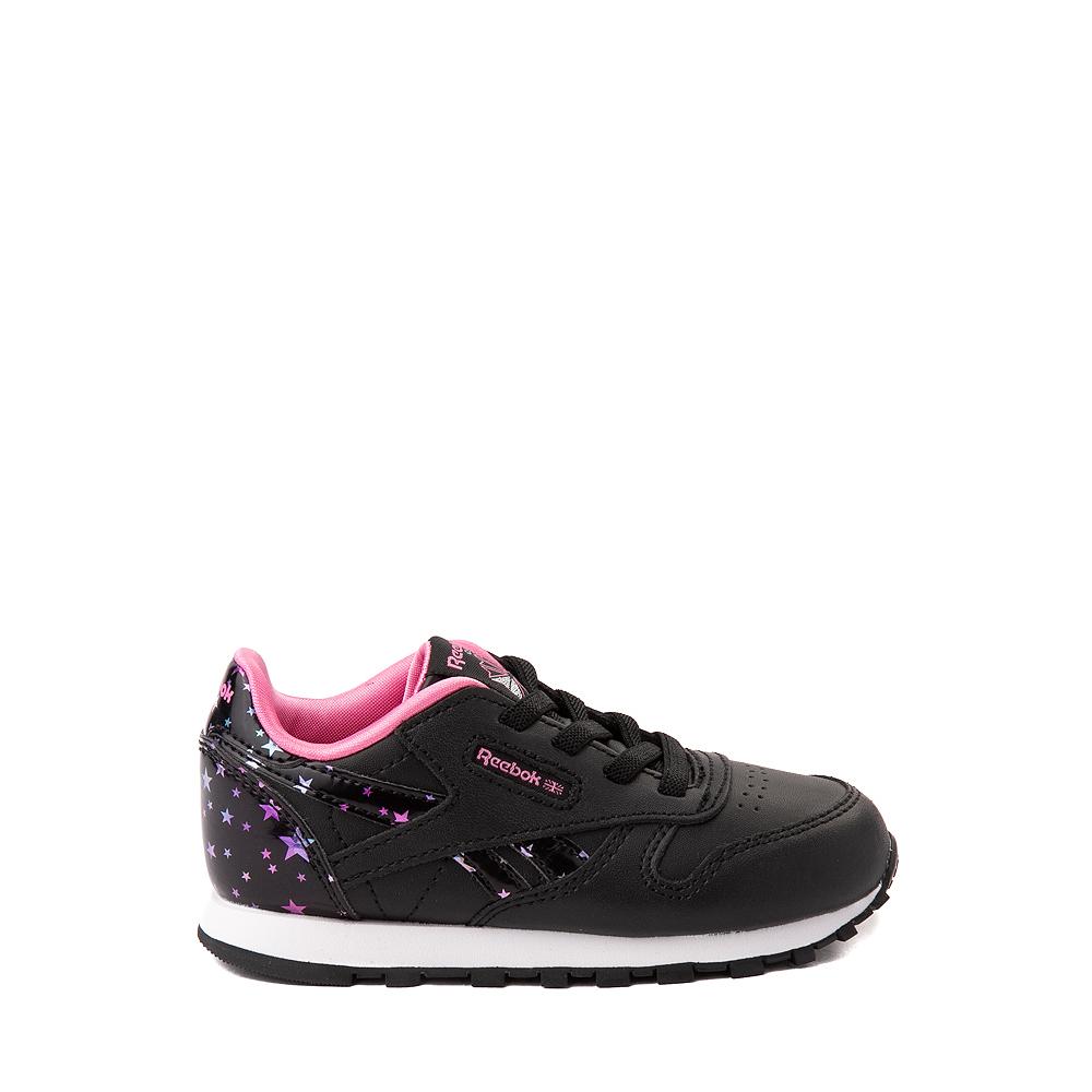 Reebok Classic Athletic Shoe - Baby / Toddler - Black / Stars