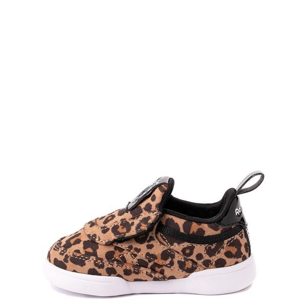 alternate view Reebok Club C Slip On Athletic Shoe - Baby / Toddler - LeopardALT1