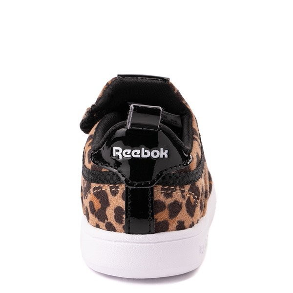 alternate view Reebok Club C Slip On Athletic Shoe - Baby / Toddler - LeopardALT4