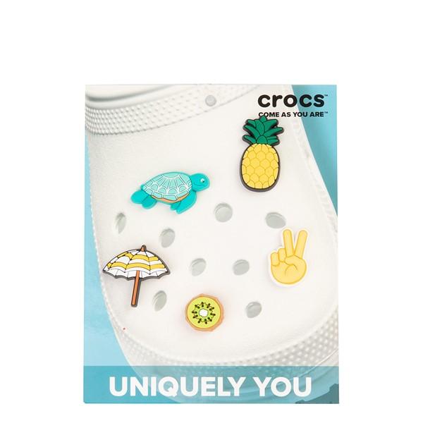 alternate view Crocs Jibbitz™ Summer Break Shoe Charms 5 Pack - MulticolorALT2