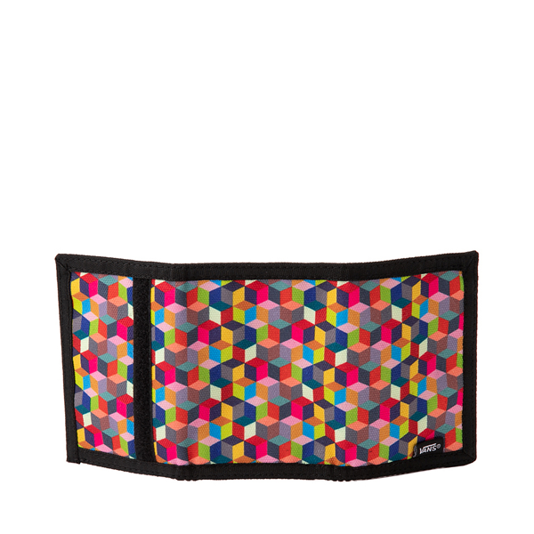 alternate view Vans Prism Cube Checkerboard Tri-Fold Wallet - MulticolorALT2