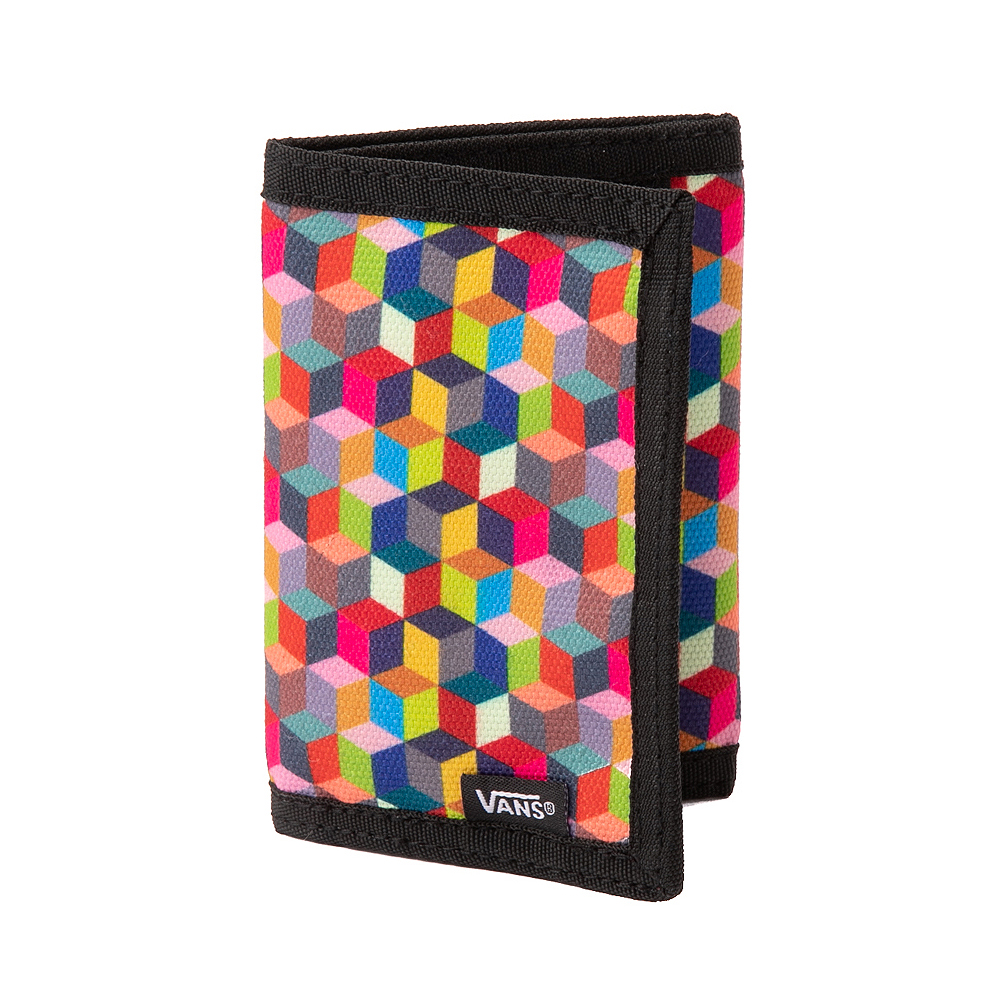 Vans Prism Cube Checkerboard Tri-Fold Wallet - Multicolor