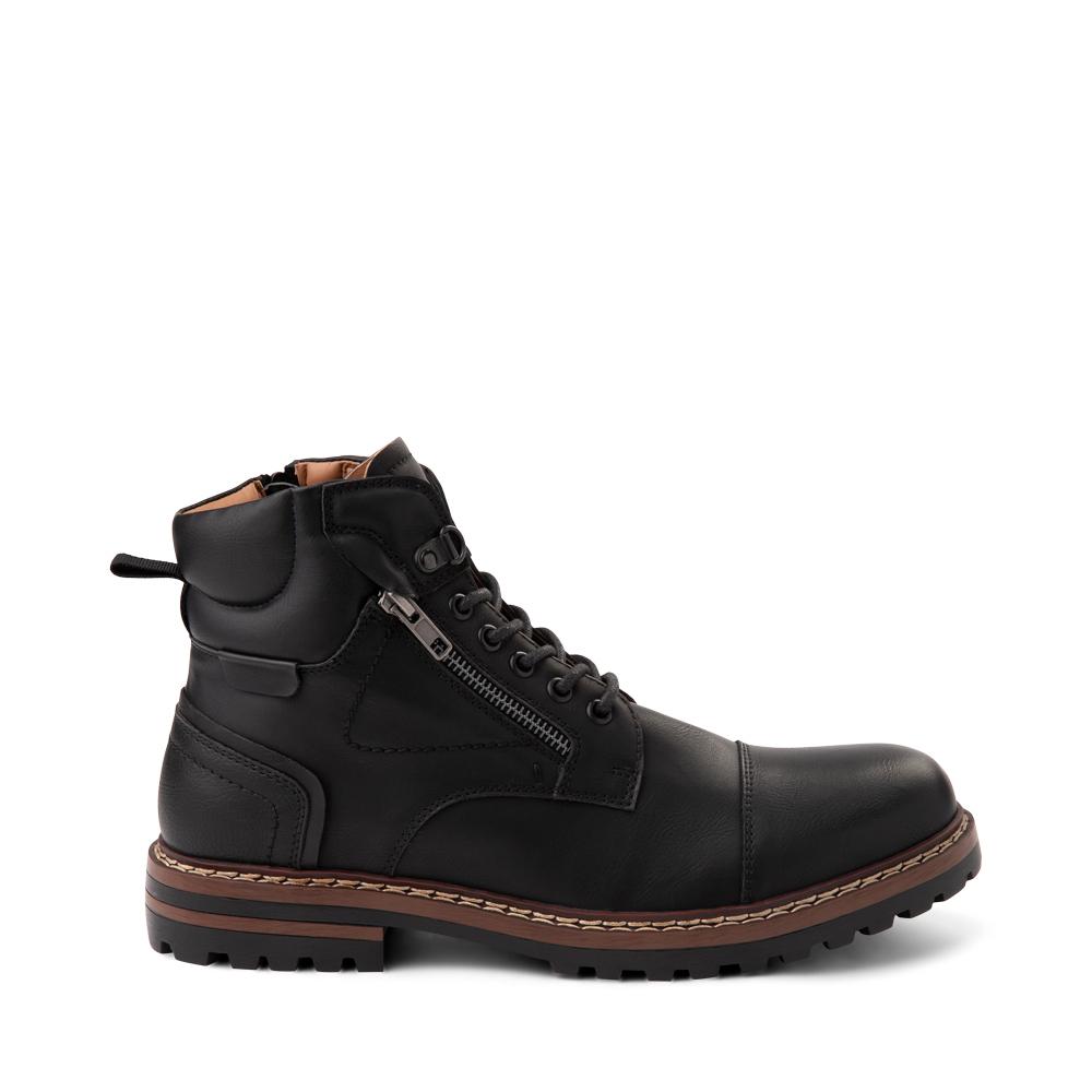 Mens Steve Madden Santor Boot - Black
