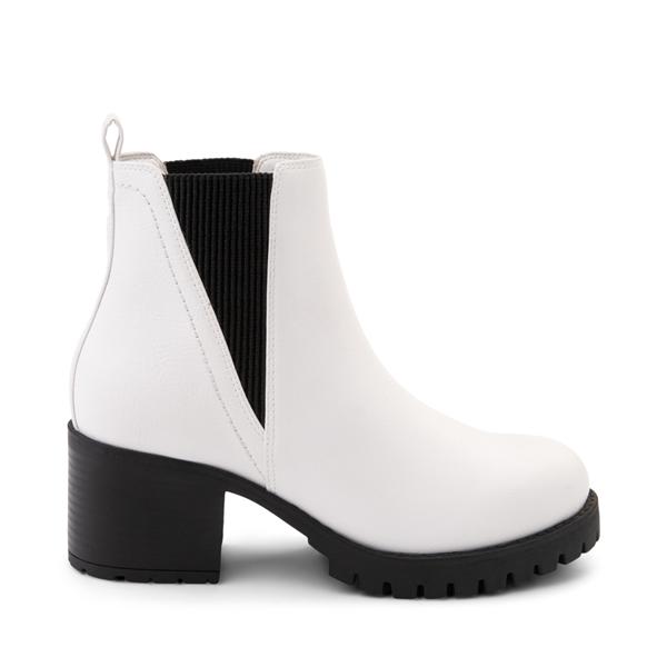 Main view of Womens MIA Laren Chelsea Boot - White
