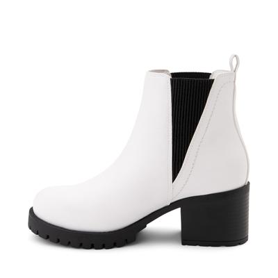 Alternate view of Womens MIA Laren Chelsea Boot - White