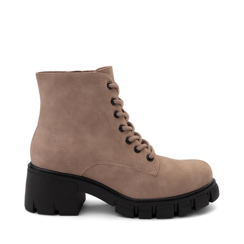 Womens MIA Metri Combat Boot - Sahara