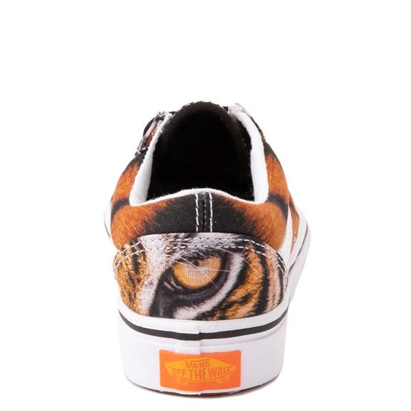 alternate view Vans x Project CAT Old Skool ComfyCush® Skate Shoe - Little Kid - Multi-TigerALT4