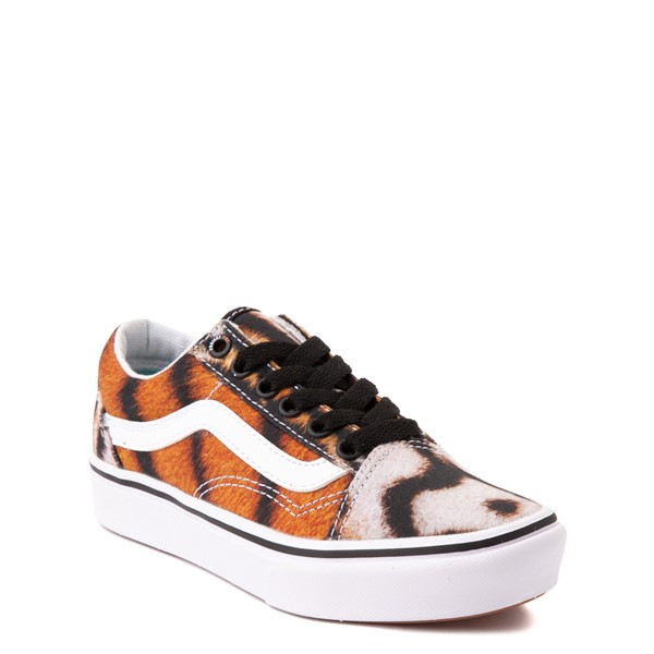alternate view Vans x Project CAT Old Skool ComfyCush® Skate Shoe - Big Kid - Multi-TigerALT5