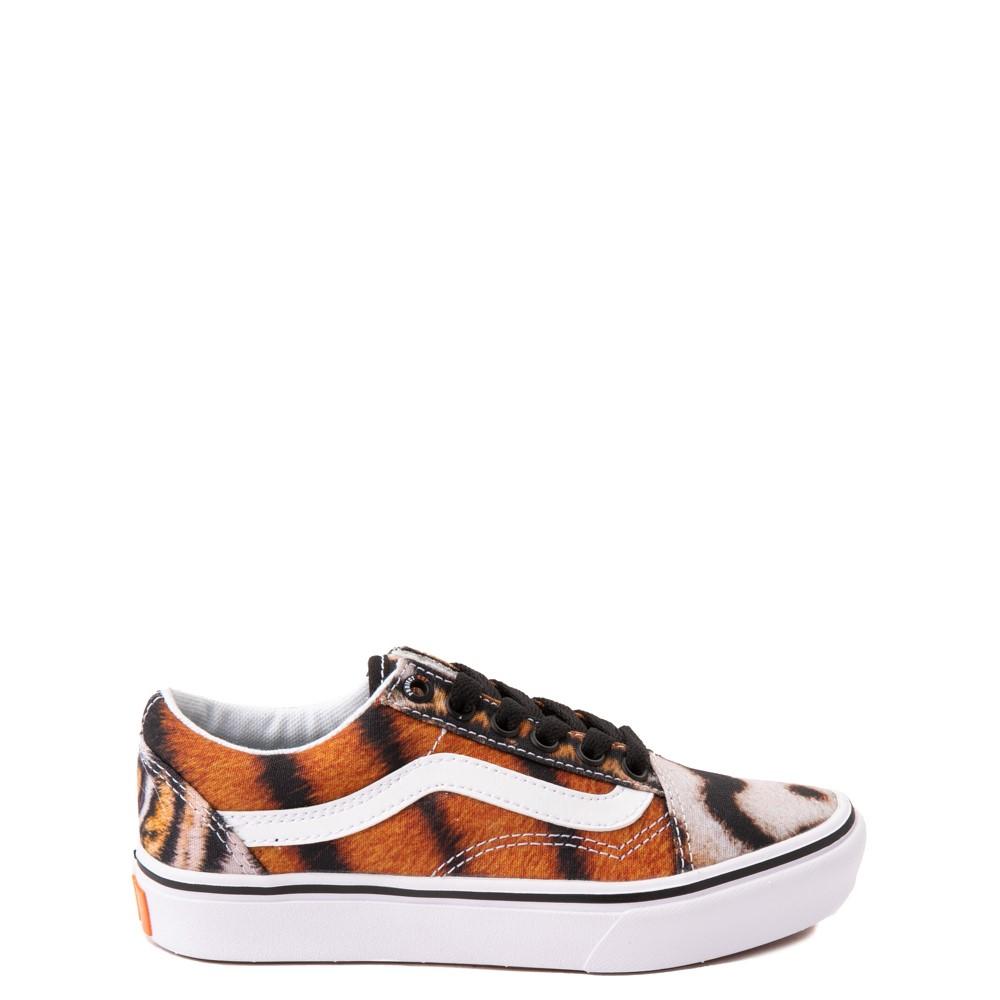 Vans x Project CAT Old Skool ComfyCush® Skate Shoe - Big Kid - Multi-Tiger