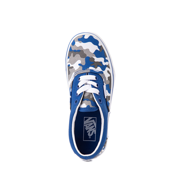 alternate view Vans Era Skate Shoe - Little Kid - Nautical Blue CamoALT2