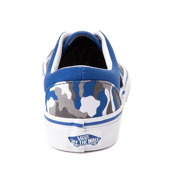 alternate view Vans Era Skate Shoe - Little Kid - Nautical Blue CamoALT4