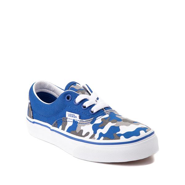alternate view Vans Era Skate Shoe - Little Kid - Nautical Blue CamoALT5