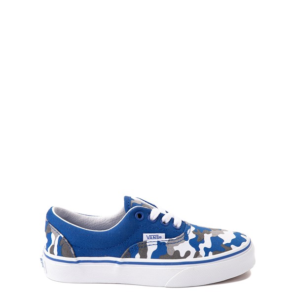 Vans Era Skate Shoe - Big Kid - Nautical Blue Camo