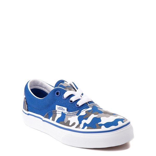 alternate view Vans Era Skate Shoe - Big Kid - Nautical Blue CamoALT5